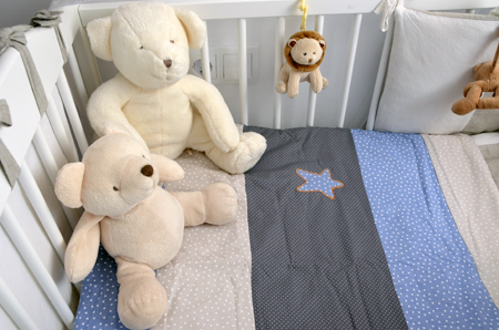 Colcha en patchwork para beb sblog de moda infantil ropa - Colchas de patchwork hechas a mano ...