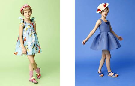 Tendencias Pitti Bimbo_Colección Mimisol moda infantil verano 2014_Blogmodabebe