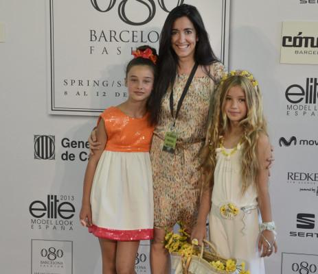 080 Barcelona Fashion_con las modelos de Condor_Blogmodabebe