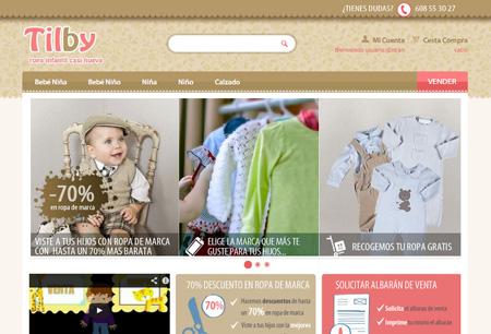 Comprar y vender ropa de segunda mano para niños_Tilby