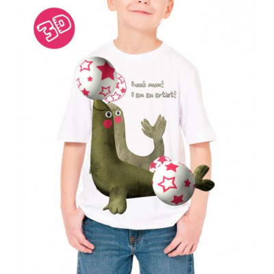 Camisetas realidad aumentada para ninos-Manada Live-Blogmodabebe-foca
