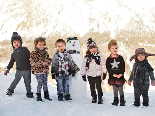 Benetton Kids moda infantil AW13 Blogmodabebe