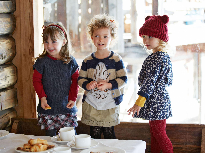 benetton ni os moda infantil oto o invierno 2013 2014