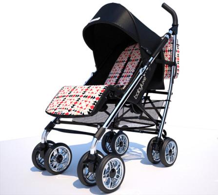 Cochecito para bebés Ion Fiz for Babyluxepiel negra chasis plata