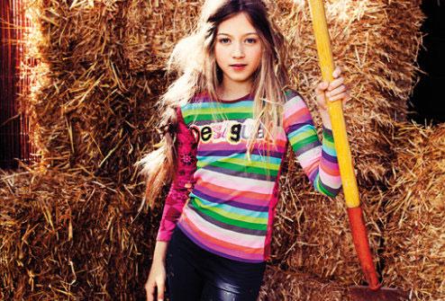Desigual Kids moda infantil AW13 Blogmodabebe