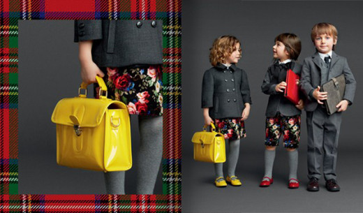 Dolce & Gabbana Junior autumn winter 2013-14-Blogmodabebe