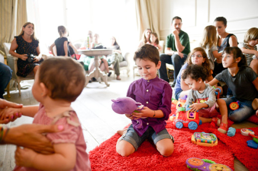 Evento madres blogueras Reír y Aprender de Fisher Price 8