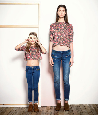 Mango Kids coleccion mini me para vestir como mama-Blogmodabebe 3