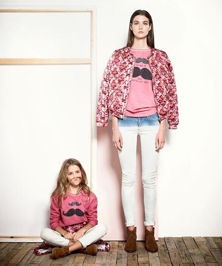 estilos de moda outlet(mk) gran descuento de 2019 Mango Kids lanza los Mini Me, ropa igual para niñas y mamás ...
