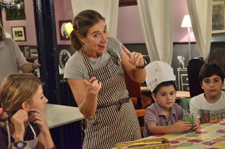 Moda infantil Boboli coleccion otono 2013-evento gastronomia Ada Parellada 6