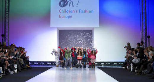 Pasarela de moda infantil CPM Moscú de Children's Fashion Europe