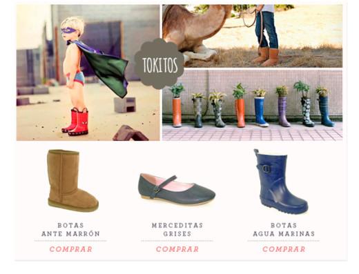Zapatos infantiles Tokitos