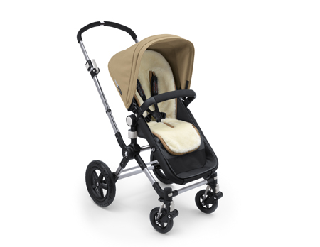 Bugaboo Wool Collection colchoneta integral de lana Bugaboo marfil