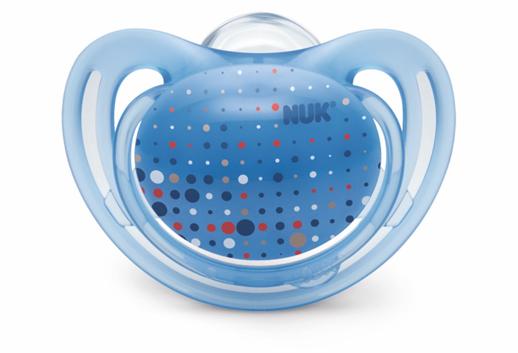 Chupetes Nuk Freestyle azul