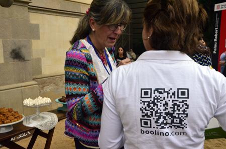 María de Compritas para los peques en el Networking de marcas de la pasarela Petit Style Walking