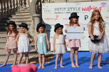 Petit Style Walking 2013_Pasarela de moda infantil Barcelona_Cazando Mariposas_Blogmodabebe