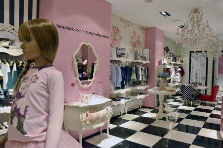 Petit Style Walking la preciosa tienda de Monnalisa en Barcelona