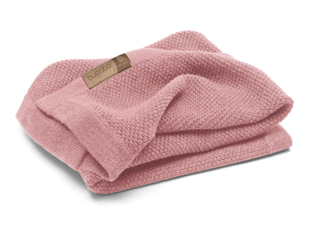 Bugaboo Bugaboo Wool Collection-manta lana merino rosa