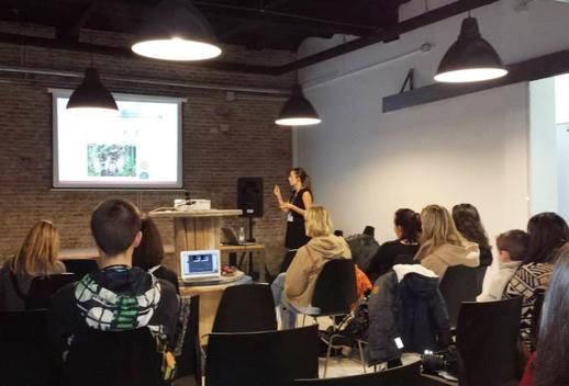 Diseño aplicado a blogs charla de Marta Parra Unamamadiseñadora en Bloggers & Family 2013
