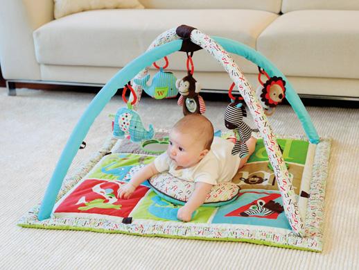 Gimnasio de actividades para bebes SkipHop Blomodabebe1