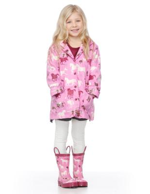 Moda infantil Hatley cubasquero paraguas y botas a juego_Blogmodabebe 3