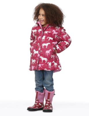 Moda infantil Hatley cubasquero paraguas y botas a juego_Blogmodabebe2