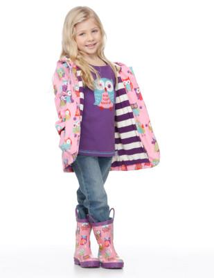 Moda infantil Hatley cubasquero paraguas y botas a juego_Blogmodabebe3