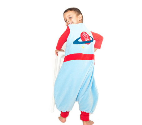 Pijamas divertidos para niños Saco pinguino de Astronauta