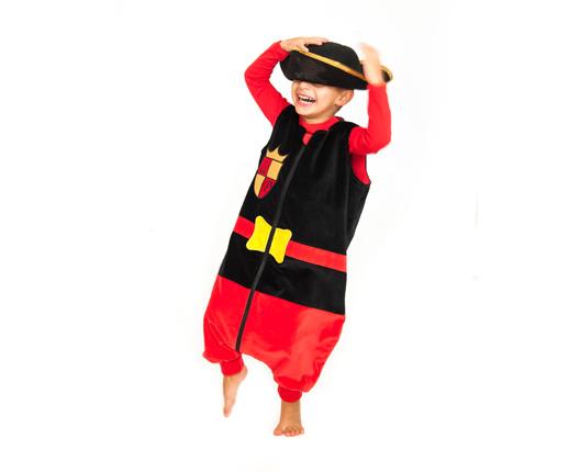 17873a061 Pijamas divertidos para niños Saco pinguino de Caballero ...