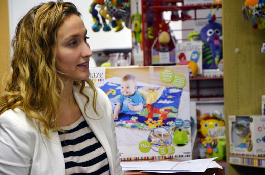 Sara Rojas Product Manager de Tomy Espana