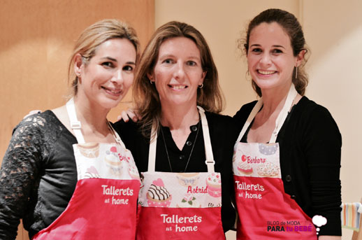 Equipo de Tallerets at home