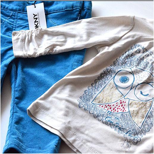 Moda infantil DKNY sorteo Blogmodabebe