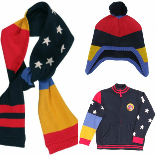 Moda infantil gorros y bufandas Navidad Dpam 2