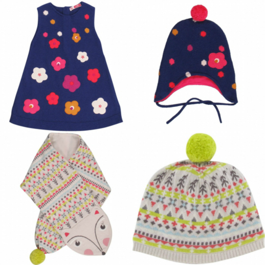 Moda infantil gorros y bufandas Navidad Dpam 4
