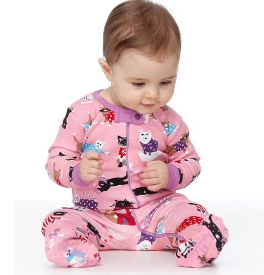 Pijamas Hatley pijamas divertidos para niños-Blogmodabebe8