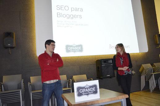 Rodrigo Mantillan de la agencia Gipande Primera quedada bloguera en el Berga Resort