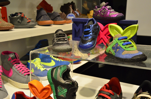 Andrea Morelli tienda en Barcelona zapatos para niños 3