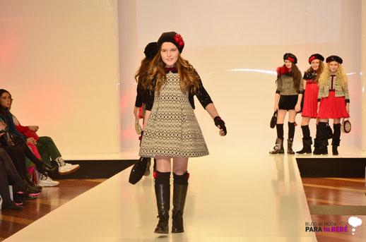 Barcarola desfile en FIMI pasarela moda infantil 2