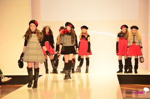 Barcarola desfile en FIMI pasarela moda infantil 3