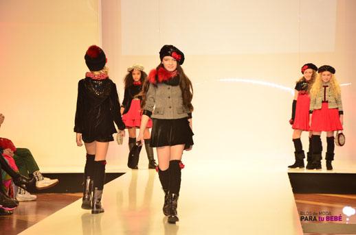 Barcarola desfile en FIMI pasarela moda infantil