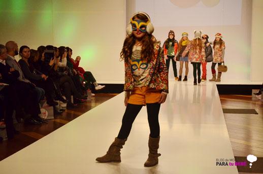 Boboli desfile en FIMI pasarela moda infantil 5