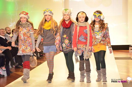 Boboli desfile en FIMI pasarela moda infantil