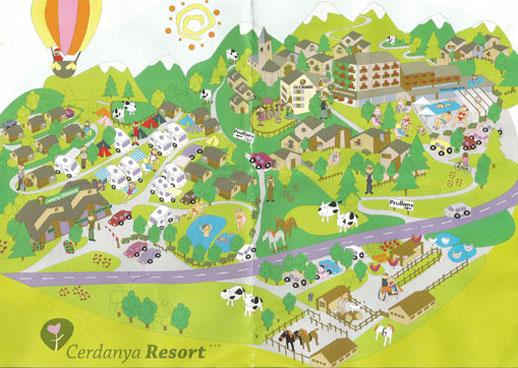 Cerdanya Resort plano