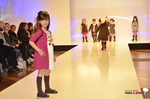 Elisa Menuts desfile en FIMI pasarela moda infantil