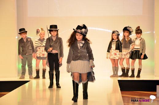 Foque desfile en FIMI pasarela moda infantil