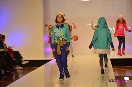 IAM desfile en FIMI pasarela moda infantil