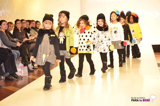Lourdes desfile en FIMI pasarela moda infantil 2