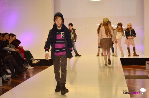 Mayoral desfile en FIMI pasarela moda infantil