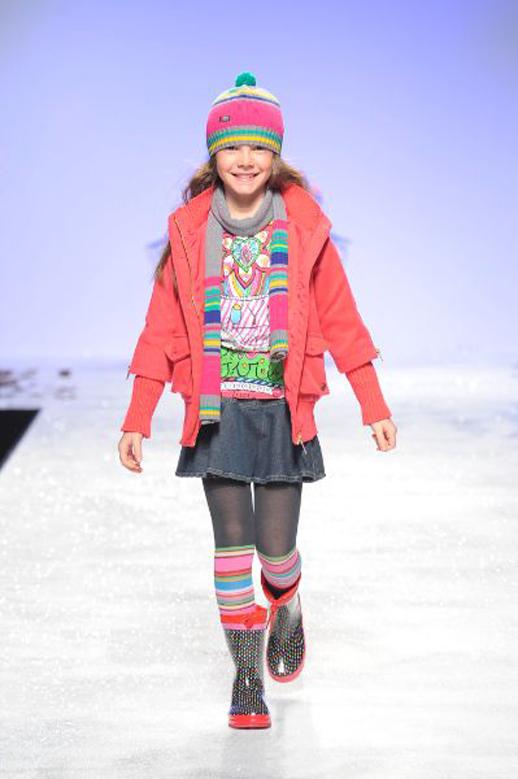 Moda infantil Bóboli desfile en Pitti Bimbo_otoño invierno 2014 2015 tendencias Blogmodabebe 3