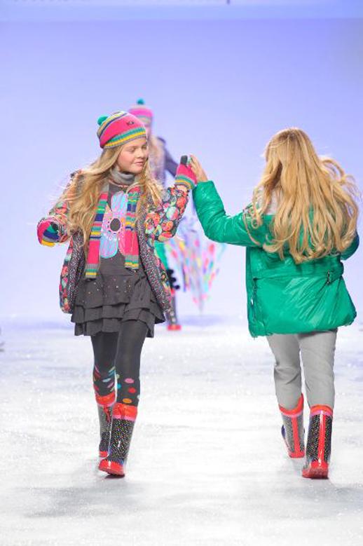 Moda infantil Bóboli desfile en Pitti Bimbo_otoño invierno 2014 2015 tendencias Blogmodabebe 5